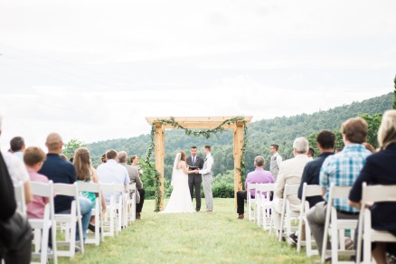 Summer Outdoor Wedding Ceremony