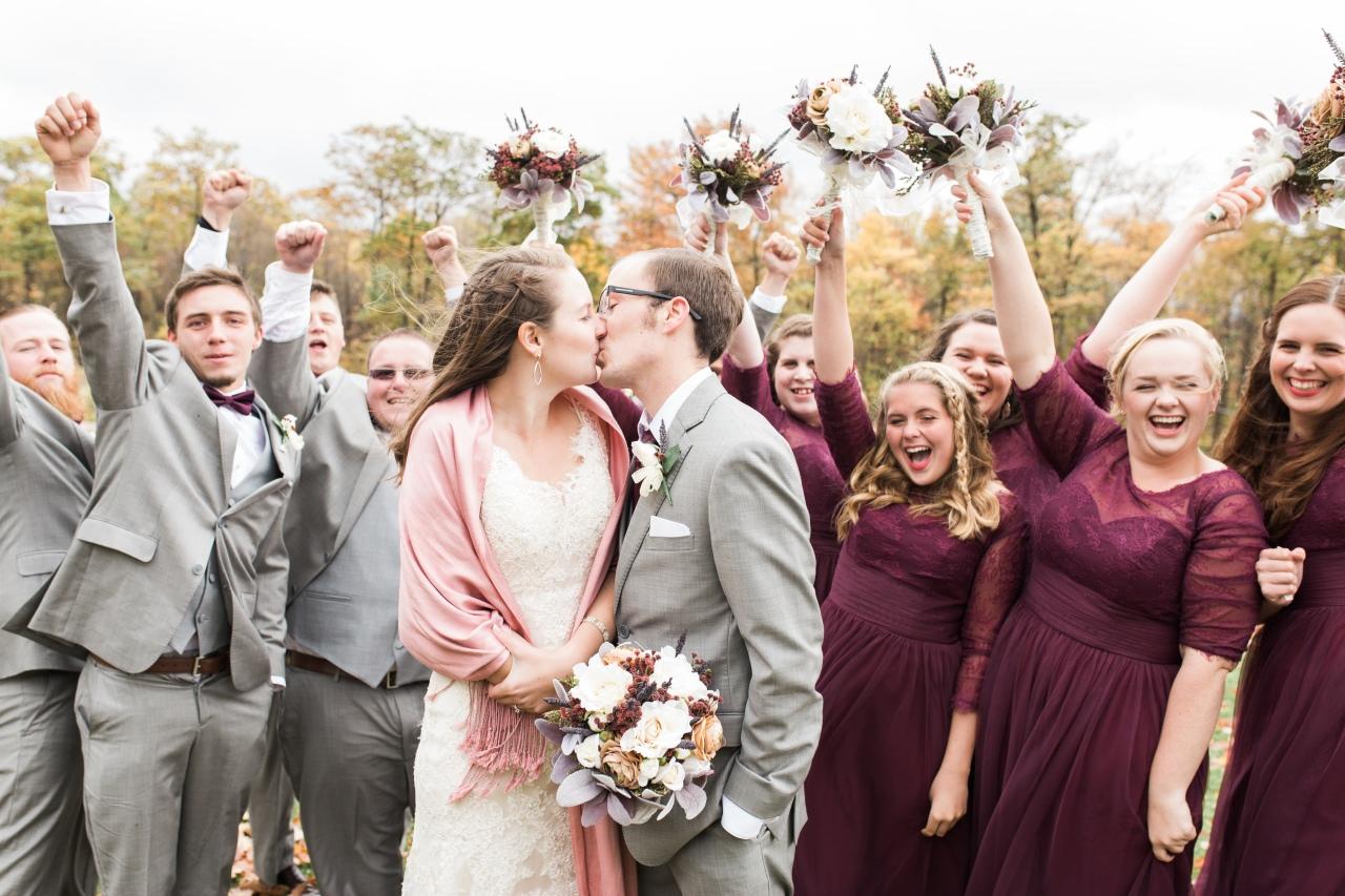 Fall Fun Bridal Party