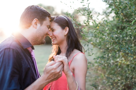 Clemson South Carolina Garden Engagement